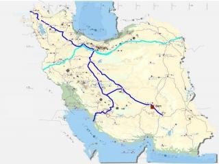 مسافت بین شهرهای ایران