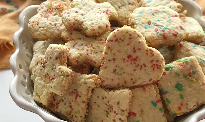 کوکی نارگیلی-coconut cookies