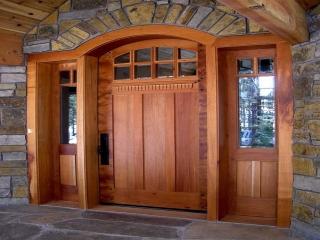 انواع درب های ساختمانی