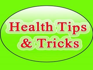 نکاتی درباره سلامتی و تندرستی