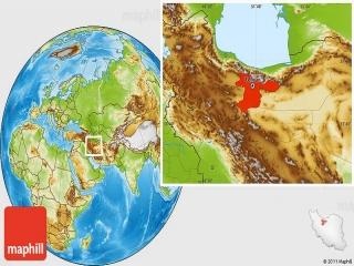 موقعیت جغرافیایی تهران