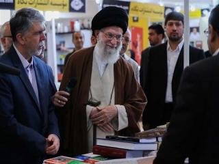 رهبر معظم انقلاب صبح امروز از سی و دومین نمایشگاه کتاب تهران بازدید کردند