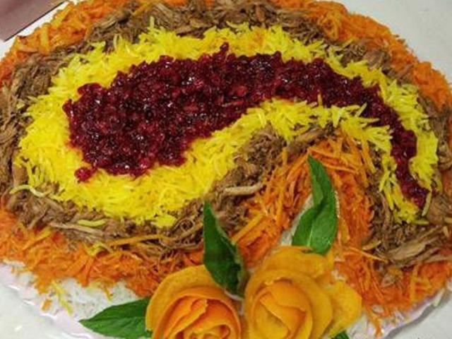طرز تهیه خلال پلو (غذای محلی دامغان سمنان)