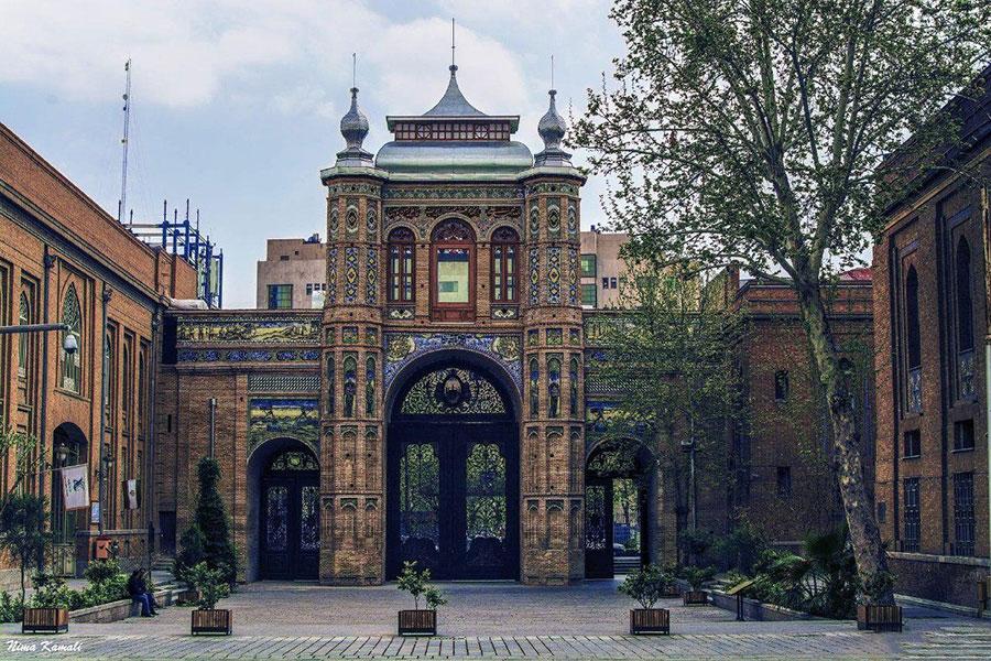 ثبت سر در باغ ملی در فهرست آثار ملی ایران - record of national garden in iran national works list