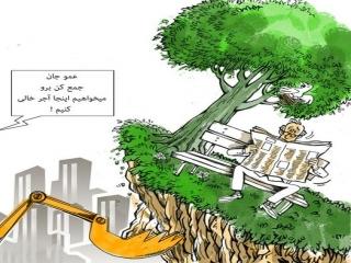 کاریکاتورهای شهرداری