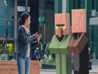 مایکروسافت تیزری از نسخه واقعیت افزوده Minecraft منتشر کرد