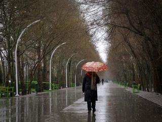 بارش شدید باران در 6 استان کشور