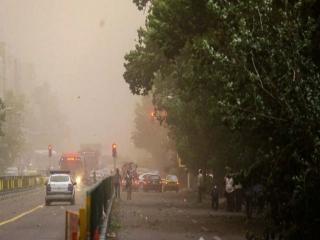 وزش باد نسبتا شدید در تهران و 5 استان دیگر