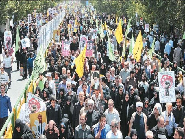 اعلام محدودیت ها و ممنوعیت های ترافیکی راهپیمایی روز قدس در تهران