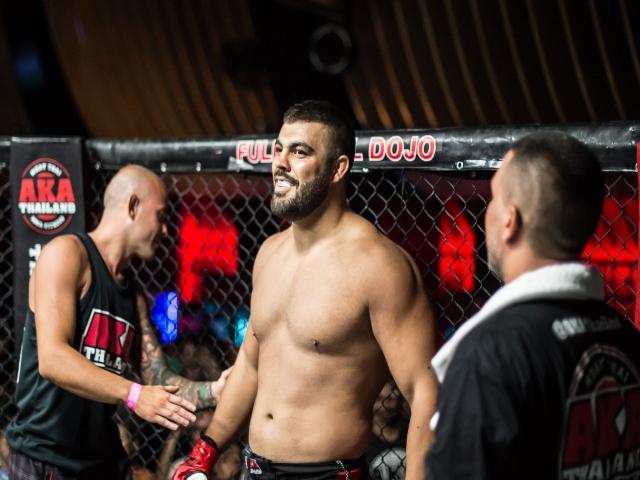 امیر علی اکبری به UFC پیوست