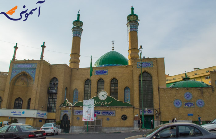 سعادت آباد - مسجد جامع الرسول