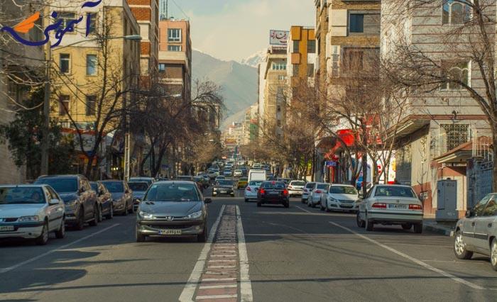 سعادت آباد - خیابان علامه