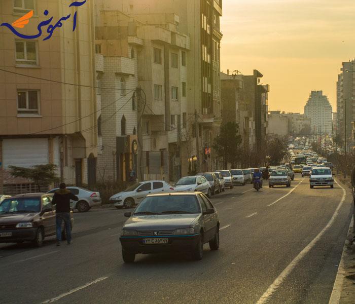 سعادت آباد - بلوار فرحزادی