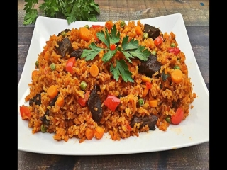 رنج جولاف ؛ غذای لذیذ آفریقایی