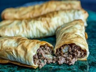 بورک گوشت (معروفترین غذای ترکیه)