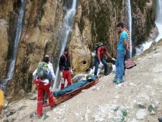 کشته و زخمیشدن زوج کوهنورد در اثر سقوط