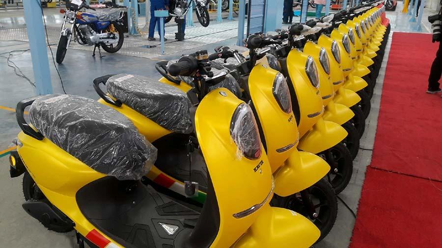 خرید متورسیلکتهای برقی افزایش یافت - Purchase of electric motors increased