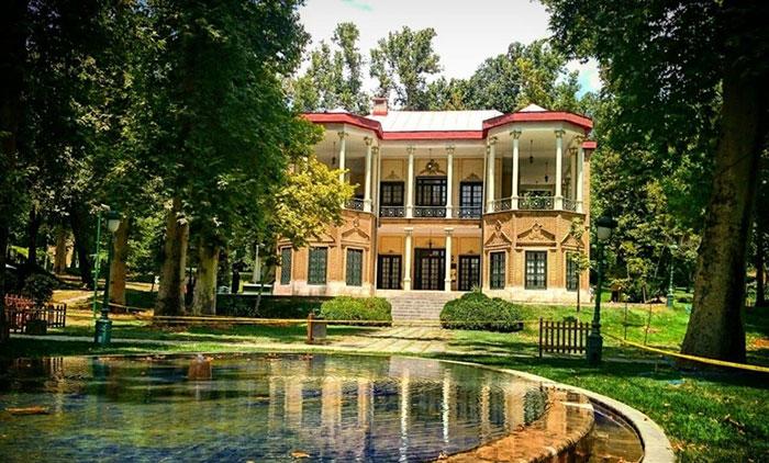 کاخ سعدآباد، کاخ ییلاقی دوران قاجار The palace of the Qajar era/Saad Abad Palace
