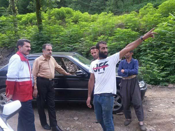 2 جوان صومعه سرایی گم شده در منطقه جنگلی چسلی ماسال پیدا شدند - Two missing young people were found in Jangal-e Chesli