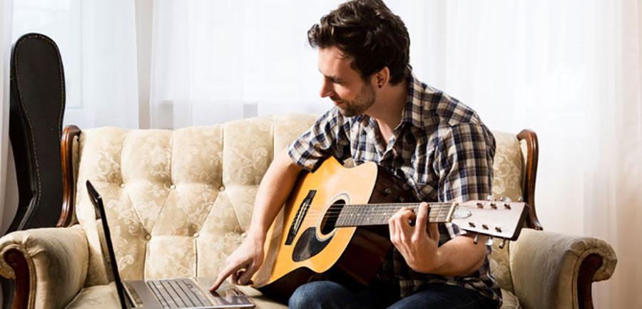 موسیقی یاد بگیرید