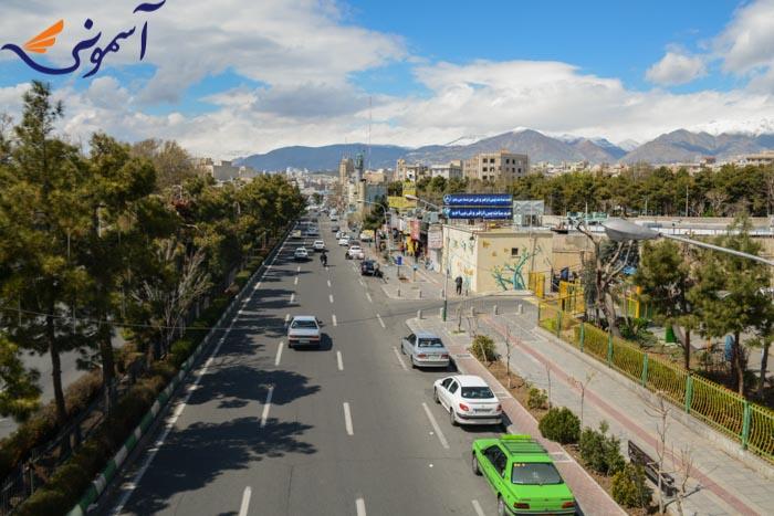 صادقیه - خیابان ستار خان