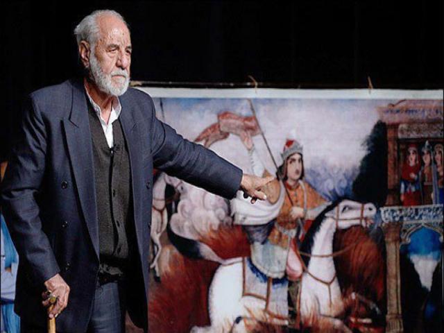 سید مصطفی سعیدی، قدیمیترین نقال ایران در بیمارستان بستری شد