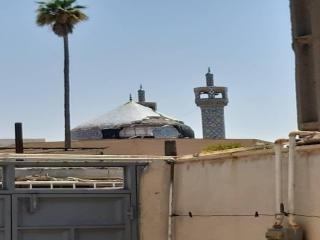 گنبد مسجد جامع در اثر زلزله آسیب دید