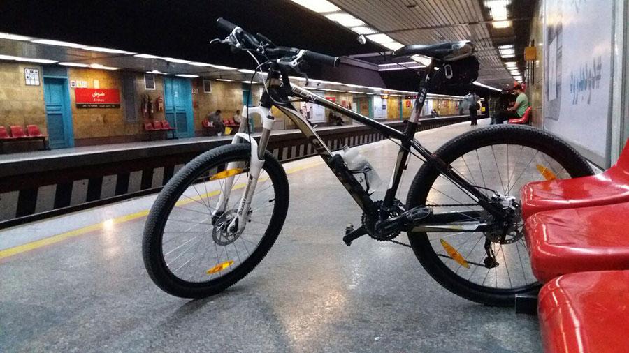 اعلام جزییات ورود دوچرخه به مترو - Details of the bike entry to the subway were announced