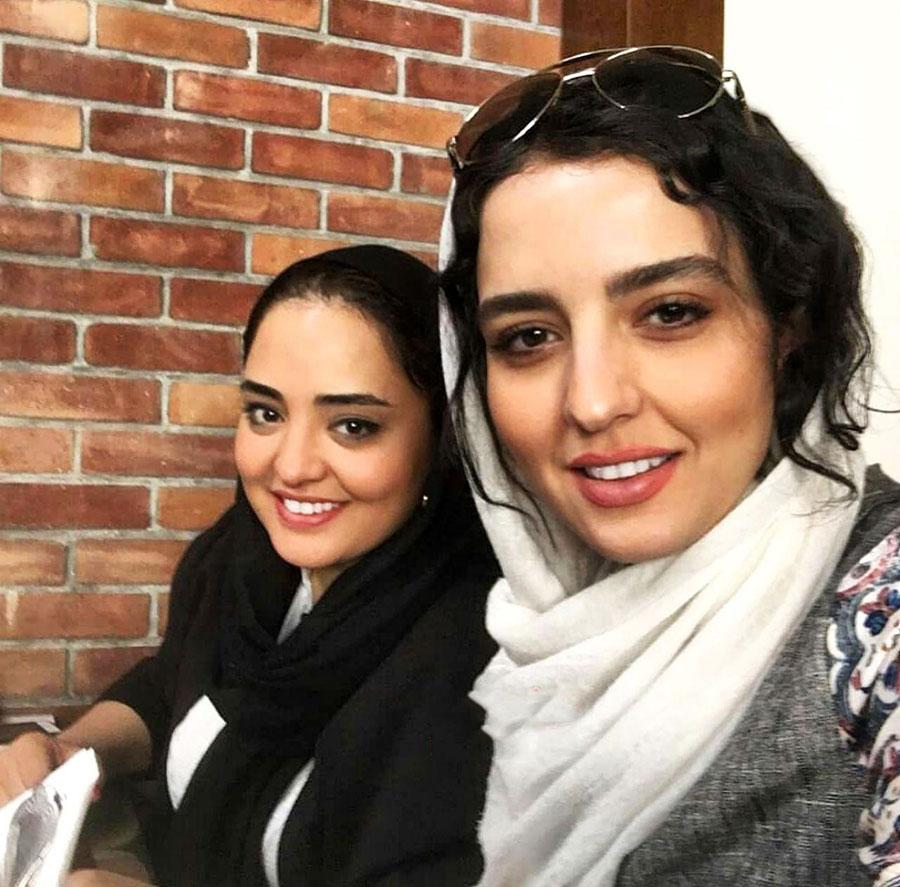نرگس محمدی و خواهرش سارا محمدی