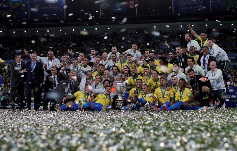 قهرمانی تیم ملی فوتبال برزیل در جام ملتهای آمریکای لاتین