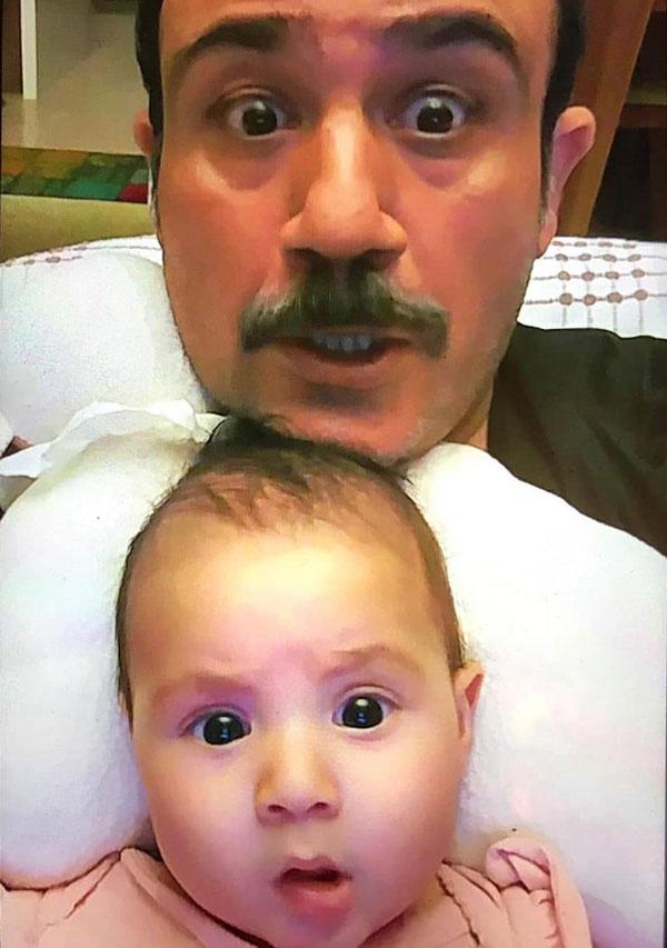 پدر و دختری مهران غفوریان