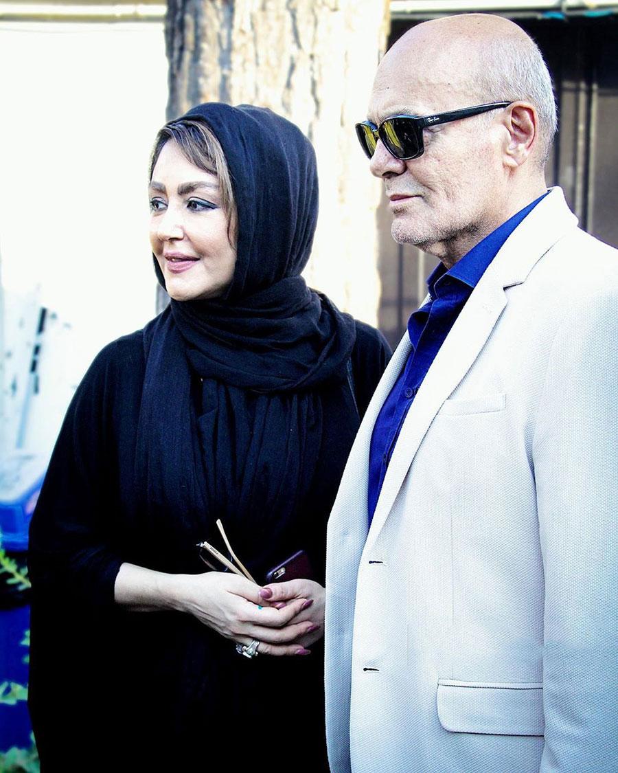 شقایق فراهانی در کنار جمشید هاشمپور