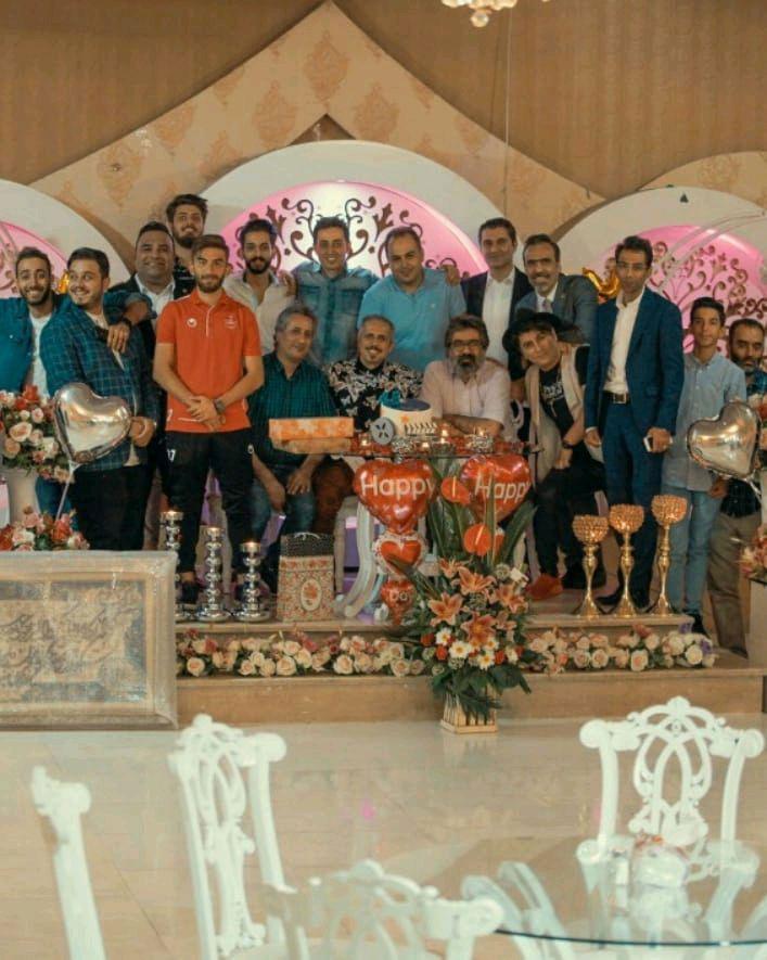 جشن تولد 45 سالگی سیدجواد رضویان