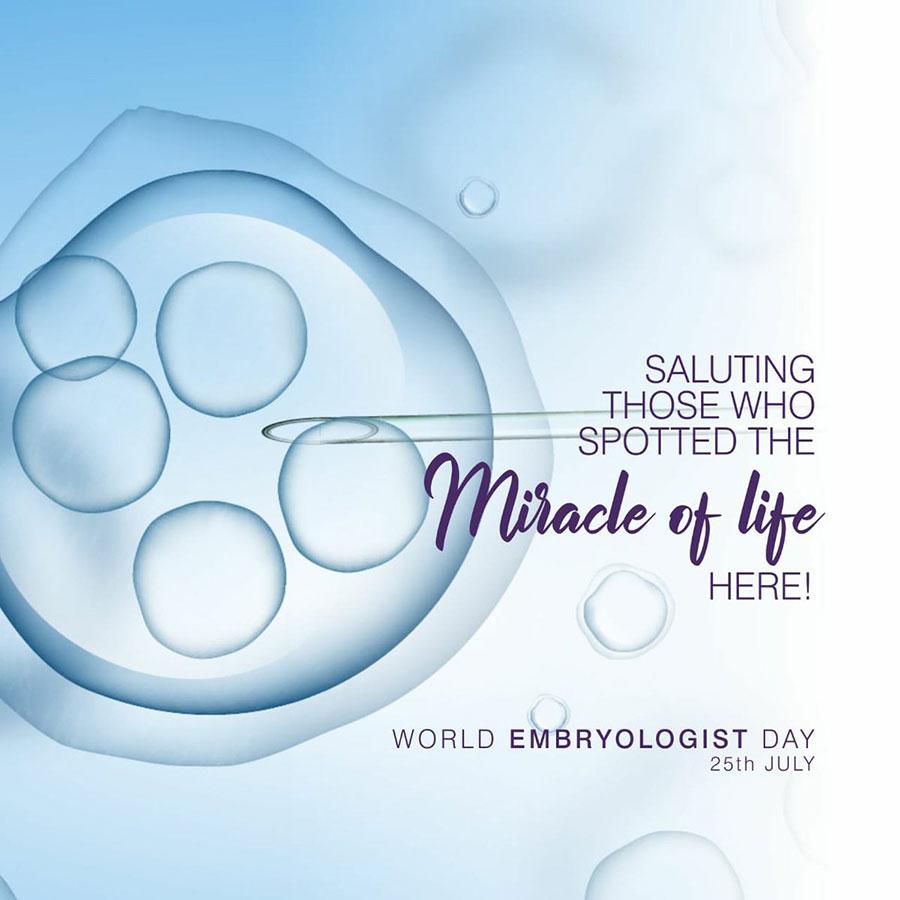 روز جهانی جنین شناسی - world embryologist day