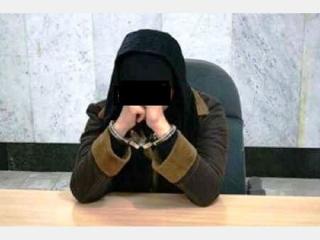 زنی با اسلحه و شوکر در میدان تجریش دستگیر شد