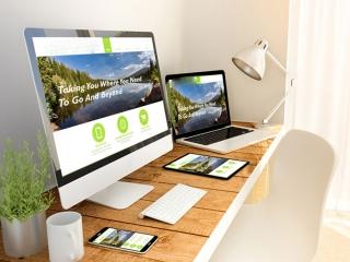 ایده برای دکوراسیون و مبلمان دفتر طراحی وب سایت