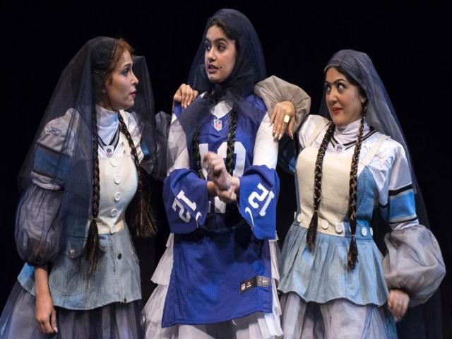 نقد تئاتر اوستاد نوروز پی نه دوز : شلیته از جنس جین