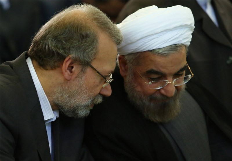 رئیس مجلس تشکیل وزارت میراث فرهنگی را به روحانی ابلاغ کرد - The Speaker notified Rouhani of the formation of the Ministry of Cultural Heritage