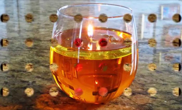 ساخت شمع بدون پارافین