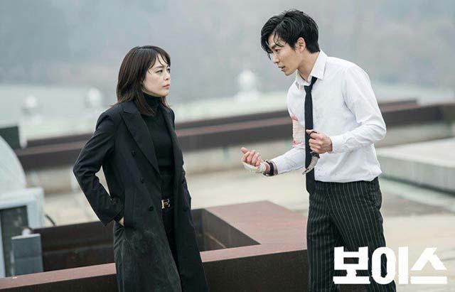 کیم جه ووک و لی ها نا در سریال صدا