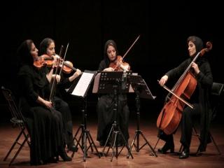 کوارتت شهرزاد اثر آهنگساز آرژانتینی را اجرا میکند