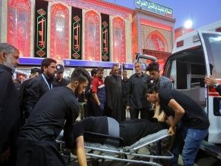 پیکر زائر جانباخته در کربلا به ایران منتقل شد