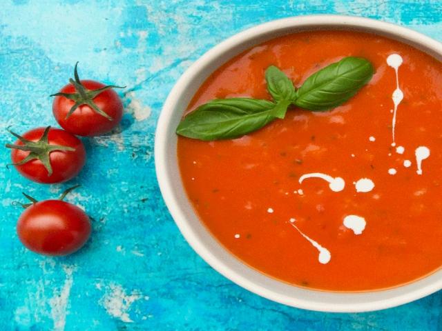 طرز تهیه سوپ گوجه