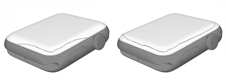 نمونه طرح شکاف در صفحه آلومینیومی اپل واچ