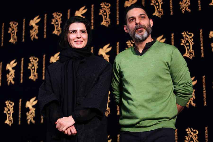 پیمان معادی و لیلا حاتمی در جشنواره