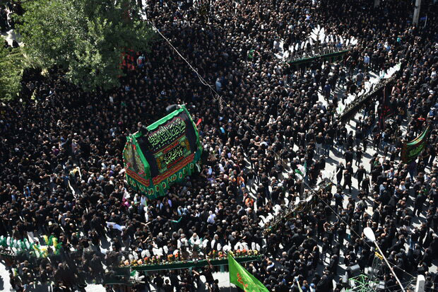 نخل گردانی روز عاشورا در خمین