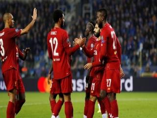 لیگ قهرمانان اروپا ؛ خنک 1 - 4 لیورپول ؛ گل باران لک لک ها در بلژیک