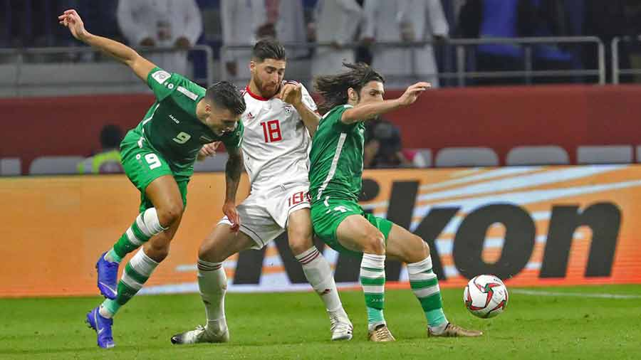 The match between Iran and Iraq will not be postponed