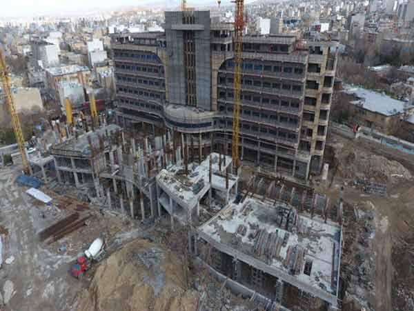 بیمارستان بزرگ برکت در غرب تهران - barekat hospital