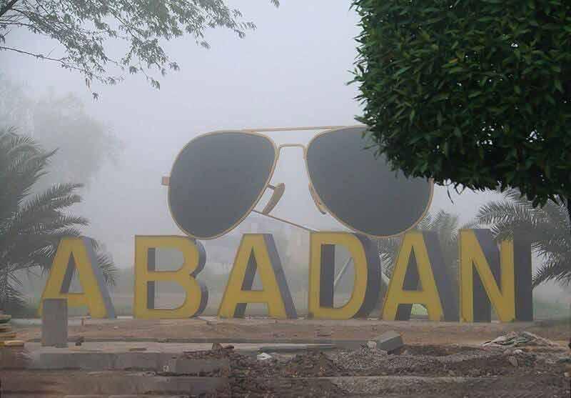 مهگرفتگی در شهر آبادان استان خوزستان